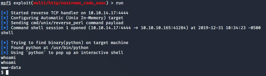 Shell access